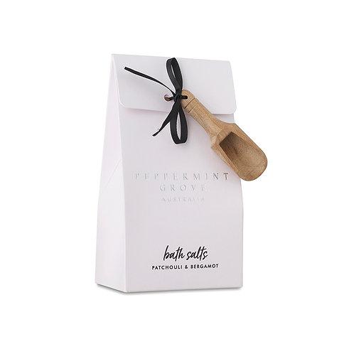 Peppermint Grove Patchouli & Bergamot Bath Salts