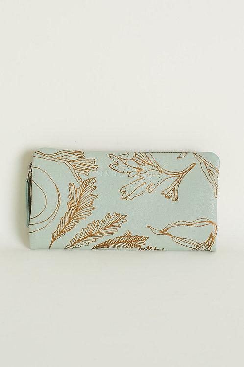 Nancybird Apollo Wallet Aqua Foam
