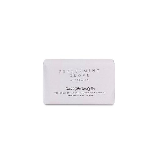 Peppermint Grove Patchouli & Bergamot Beauty Bar 200g
