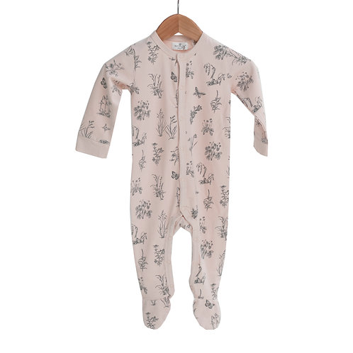 Blush Meadow Onesie