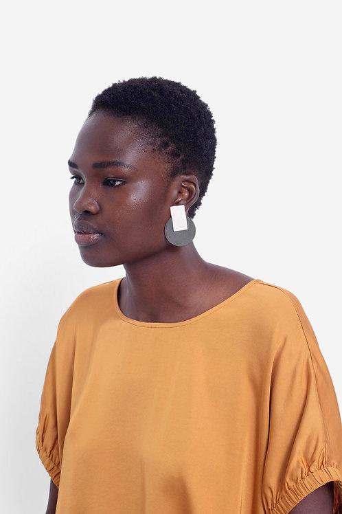 Elk Leather Earrings