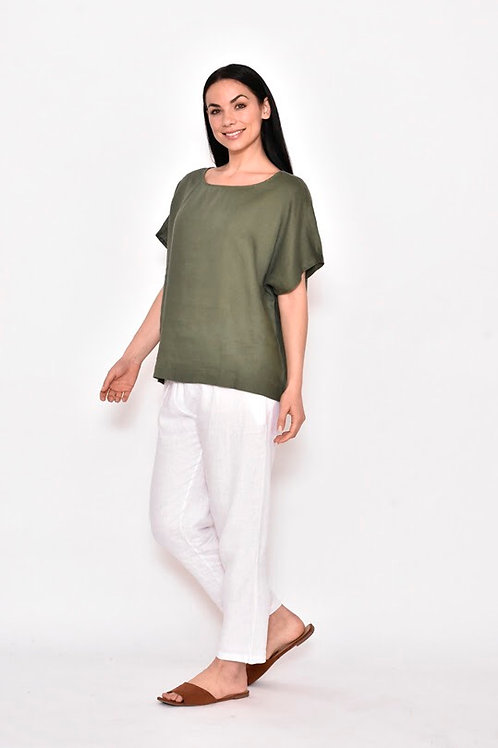 Green Linen Box Top