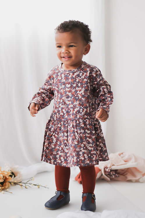 Flower Fields Baby Dress