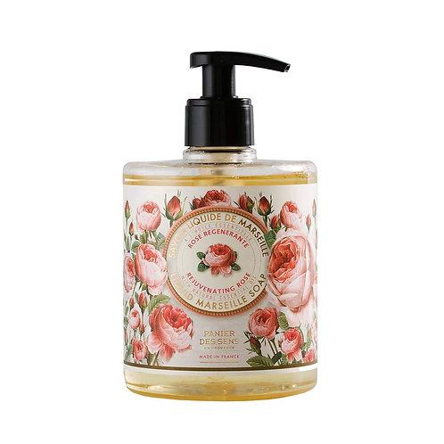 Panier des Sens Rose Liquid Soap