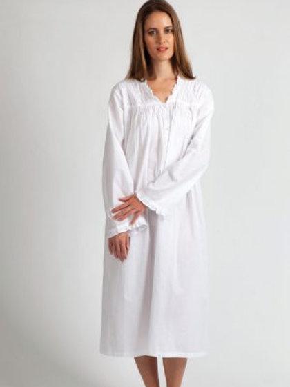 Long Sleeve Cotton Nightie
