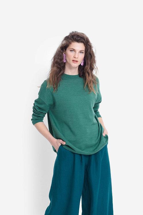 Elk Karah Sweater Green