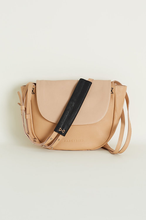 Nancybird Half Moon Bag Sand