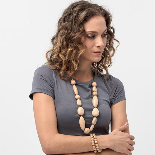 Timber Pebble Necklace