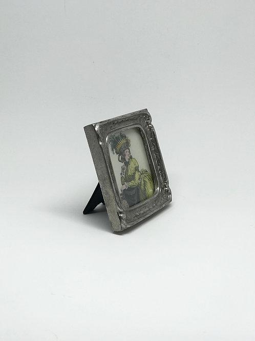Picture Frame Small Silver Square