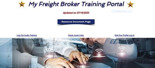 Freight Broker Training Course Online