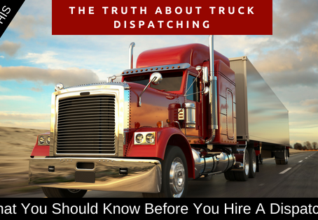The Dangers Of Trucking Company's Working With Freight Dispatchers