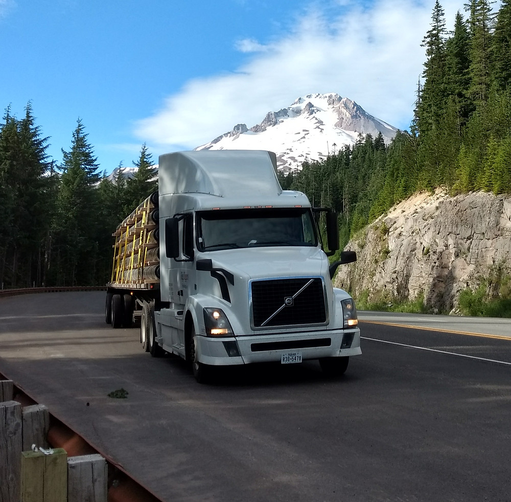 Trucking Traffic Lanes