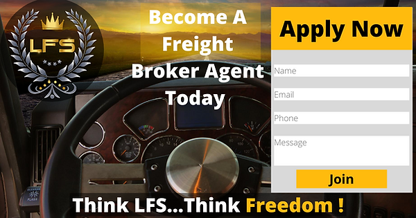 How to become a freight agent