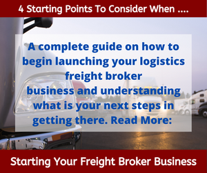 Starting Your Freight Broker Business.