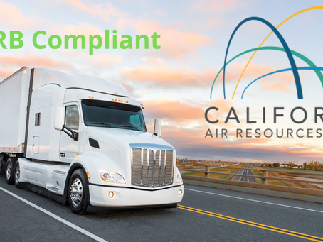 How To Become CARB Compliant To Move Freight In California