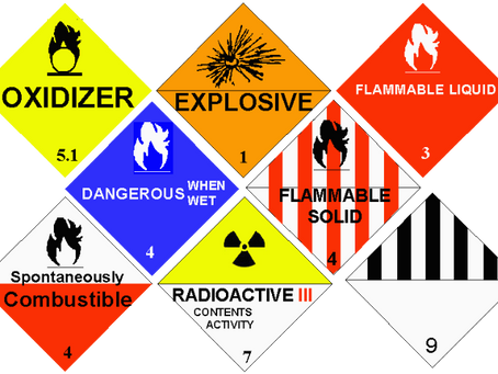 Hazmat Freight Movement Regulations