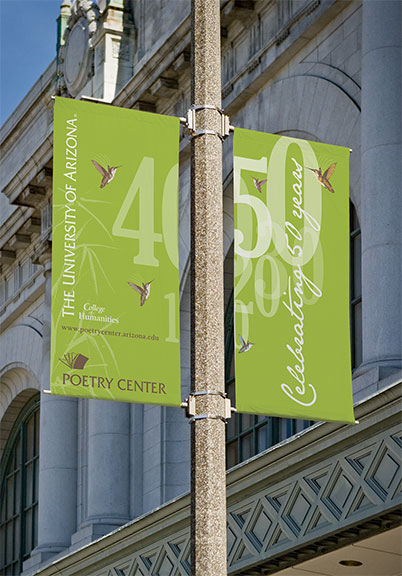 UA Poetry Center Banners
