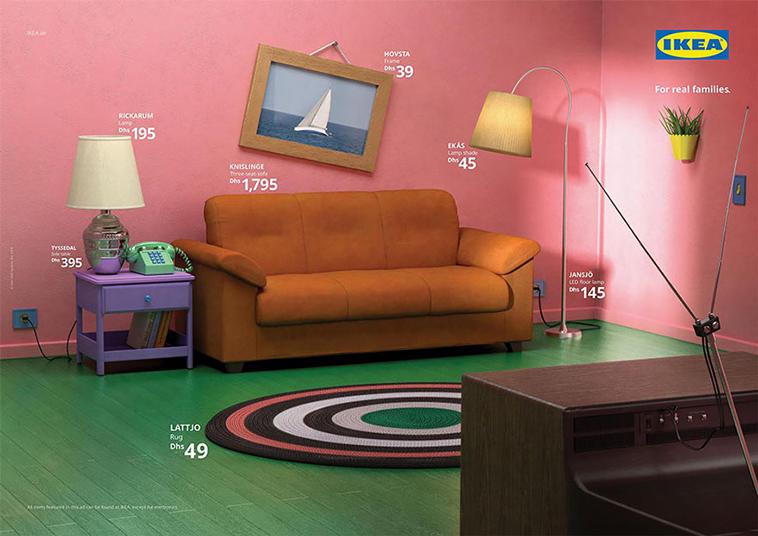 Ikea Simpsons Livingroom