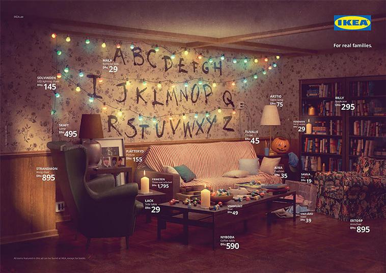 Ikea Stranger Things Livingroom