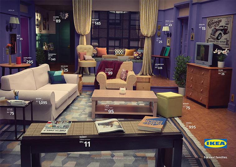 Ikea Friends Livingroom