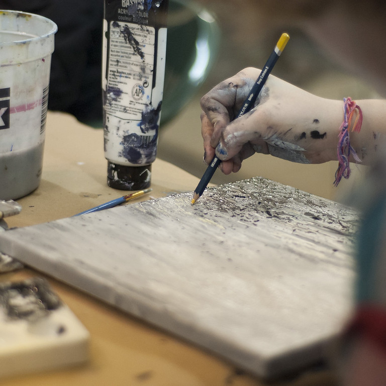 Adult Art Class in East Lansing