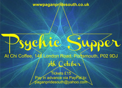 PPS psychic supper poster