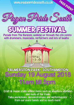 Pagan Pride South Sunday 19th August 201