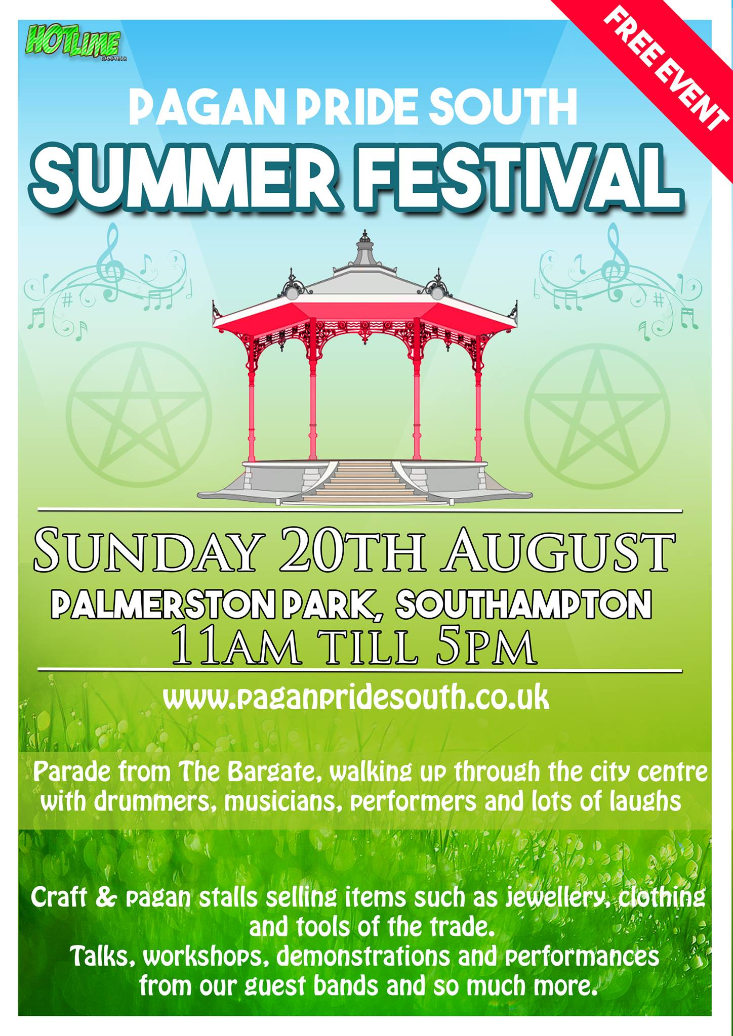 Pagan Pride South Summer Festival 2017