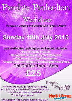 psychic workshop poster