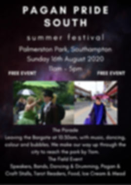 Pagan Pride South Summer Festival Southa