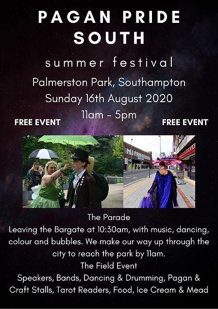 Pagan Pride South Summer Festival Southa