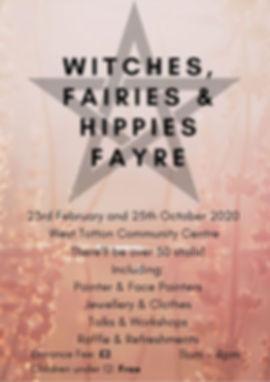 Witches Fairies & Hippies Pagan pride So
