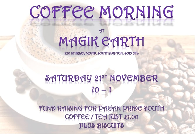 Pagan Pride South coffee morning