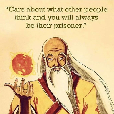 Don't be a prisoner.  Be you!