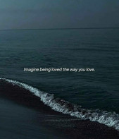 The ocean waves reflect YOU.
