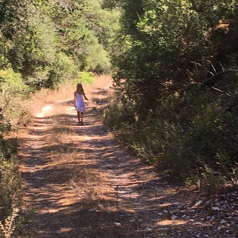 Walking down to Fiscardo