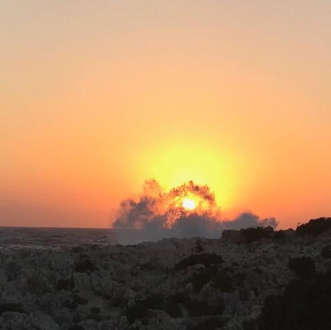 Sunset at Alaties
