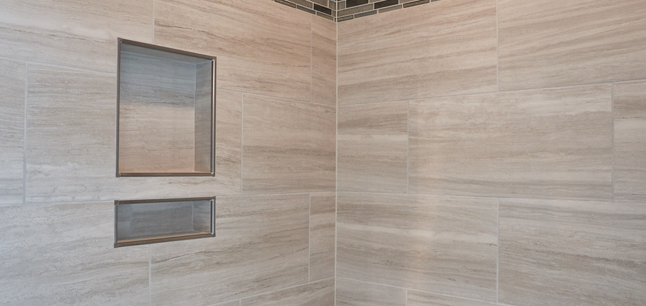 New Home-Walk-In Shower