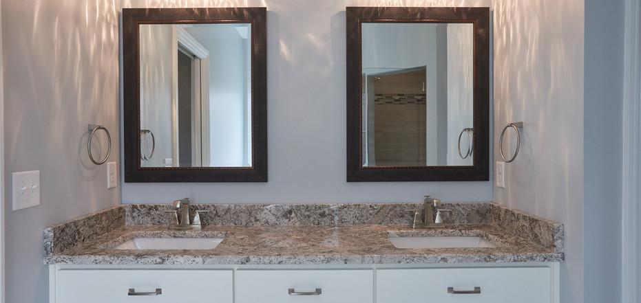 New Home-Double Sink Bathroom Vanity