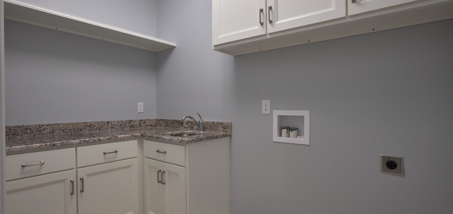 New Home-Laundry Room