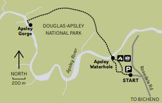 Douglas-Apsley National Park Map