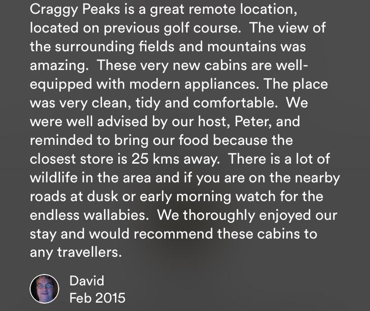David's review