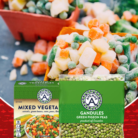 Avenue A Mixed Vegetables & Gandules