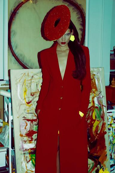 Red Birdnest