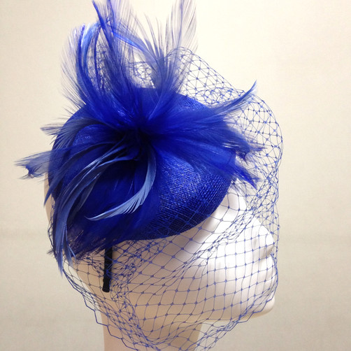 Royal Blue Veil