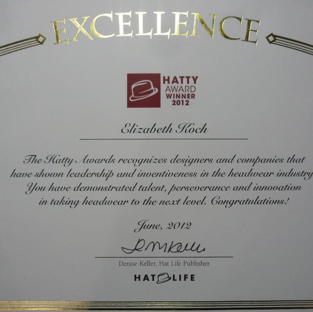 HATTY AWARD
