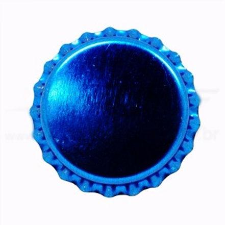 Tampinha Pry-Off - Azul Metalico 100 Unid