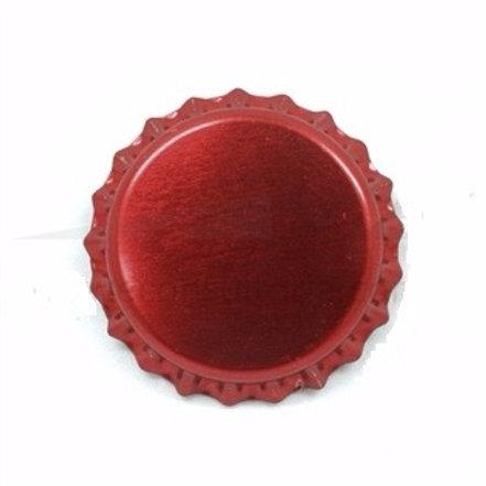 Tampinha Pry-Off - Vermelho Vinho  100 Unid