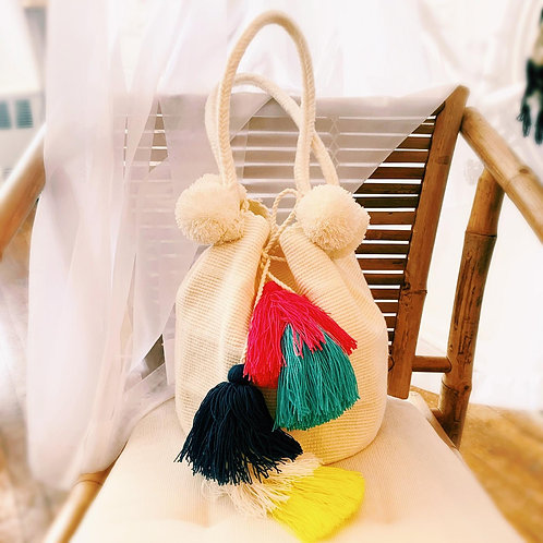 Angela Woven Wayuu Mochila Shoulder Bag