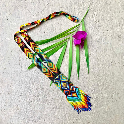 Embera Ceremonial Beaded Necklace